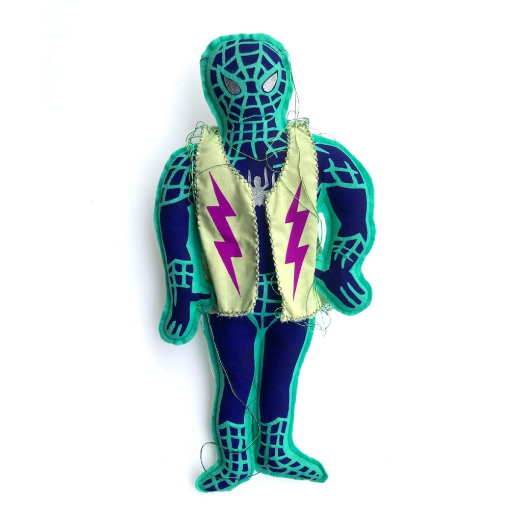 SPIDERMAN RAG DOLL