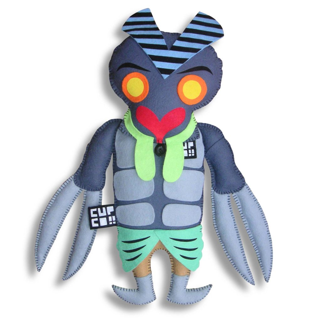 cupco hero kaiju doll