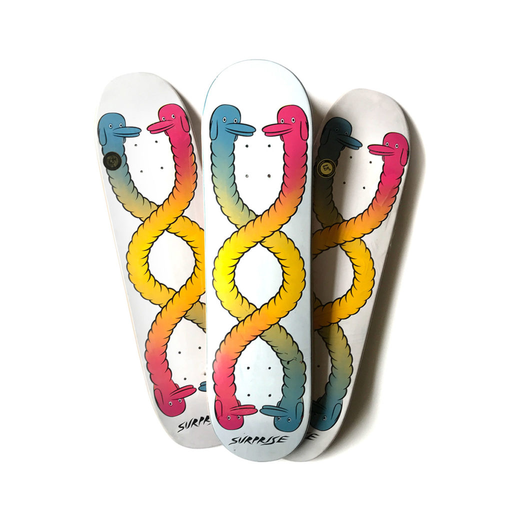 cupco surprise skateboards deck